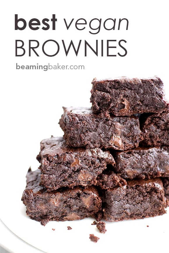 Top 10 Gluten Free Vegan Recipes of 2018 on Beaming Baker: a delicious year in review of the most POPULAR easy 'n healthy vegan recipes on the blog... from cookies & cakes to no bake snacks and bars, ice cream, candy, and quick breads! #GlutenFreeVegan #VeganRecipes #VeganDesserts #HealthySnacks #HealthyDesserts #BeamingBaker #GlutenFreeBaking | Recipes on BeamingBaker.com