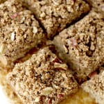 Banana Bread Bars with Streusel BEAMINGBAKER.COM