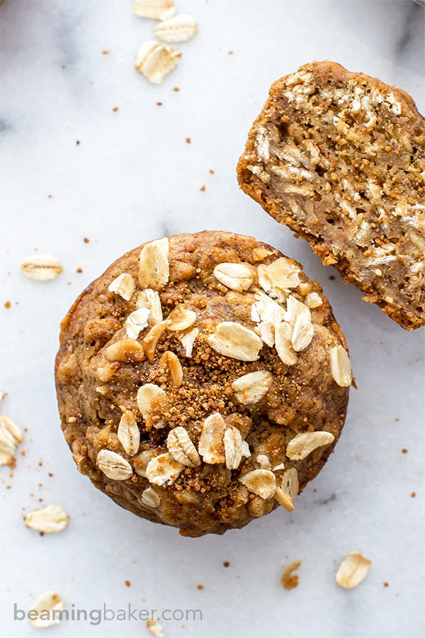 Gluten Free Banana Oat Muffins (V+GF): a one bowl recipe for warm ...