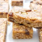 15 Healthy Gluten Free Vegan No Bake Snacks: a tasty collection of 15 easy recipes for gluten free vegan snacks that are good for ya! #Vegan #GlutenFree #Paleo #DairyFree | BeamingBaker.com
