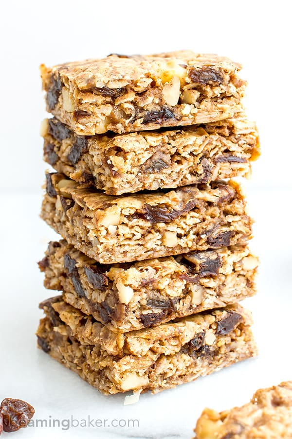 ... , bursting with juicy raisins and walnuts. Vegan and Gluten Free