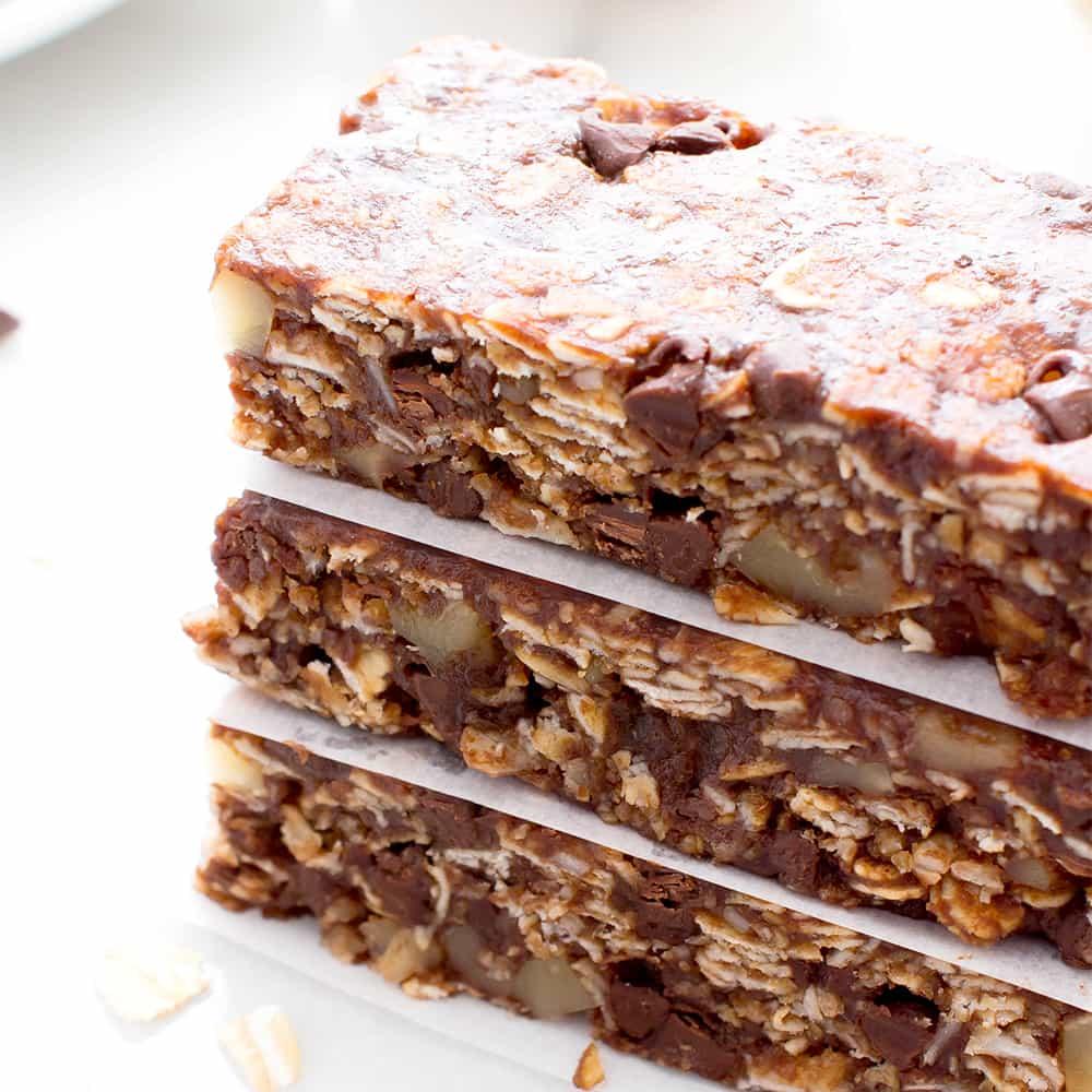 Gluten Free Chewy Chocolate Chip Granola Bars