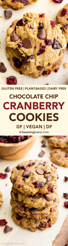 Gluten Free Dark Chocolate Chip Cookies