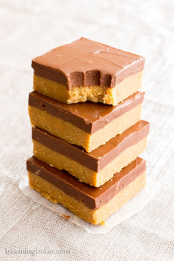 Gluten Free Chocolate Peanut Butter Bars Recipe