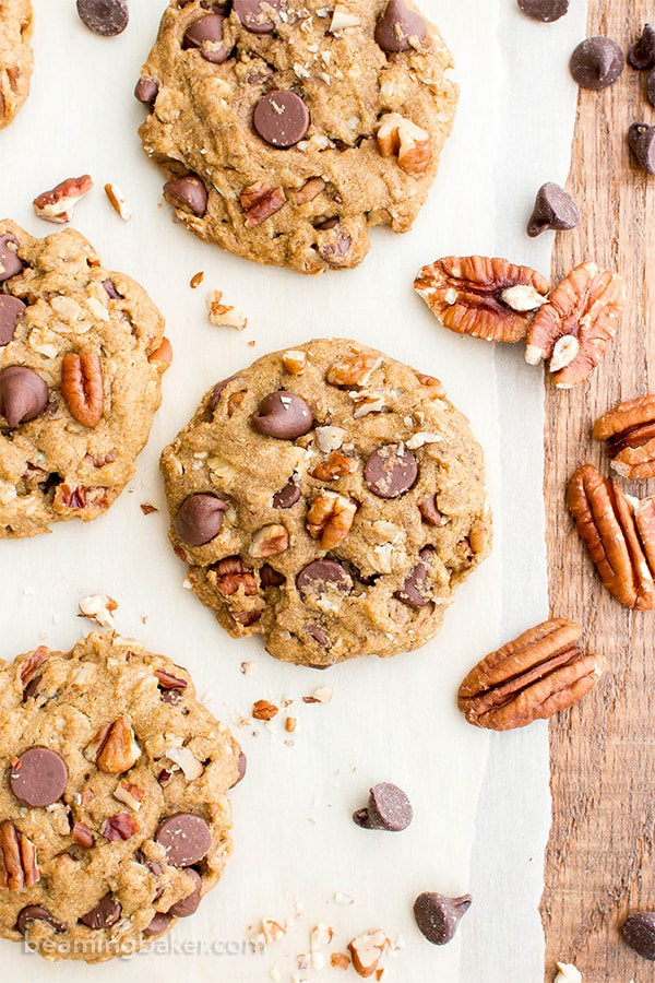 Chocolate chip cookies with pecans recipe