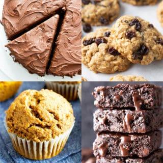 Vegan Gluten Free Desserts: a mouthwatering collection of the best vegan gluten free desserts! Including vegan gluten free cookies, cakes, cupcakes, candy and more. #VeganGlutenFree #GlutenFreeVegan #Desserts | Recipe at BeamingBaker.com