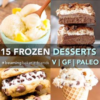 15 Delicious Paleo Vegan Frozen Desserts (Dairy-Free, Gluten-Free, Paleo, Vegan)