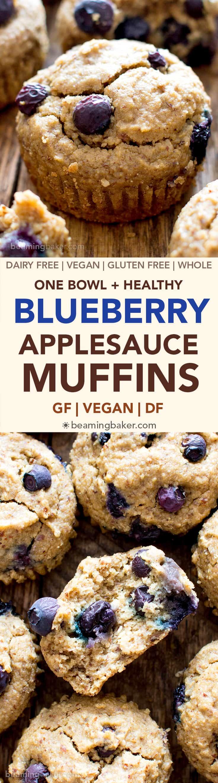 Blueberry Applesauce Baby Food Recipe