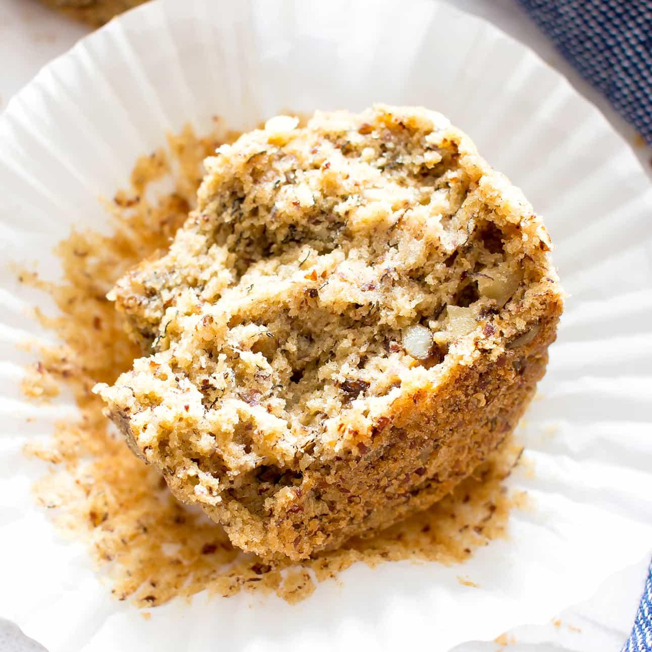 One Bowl Gluten Free Vegan Banana Nut Muffins V Gf Dairy Free Refined Sugar Free Oat Flour Beaming Baker