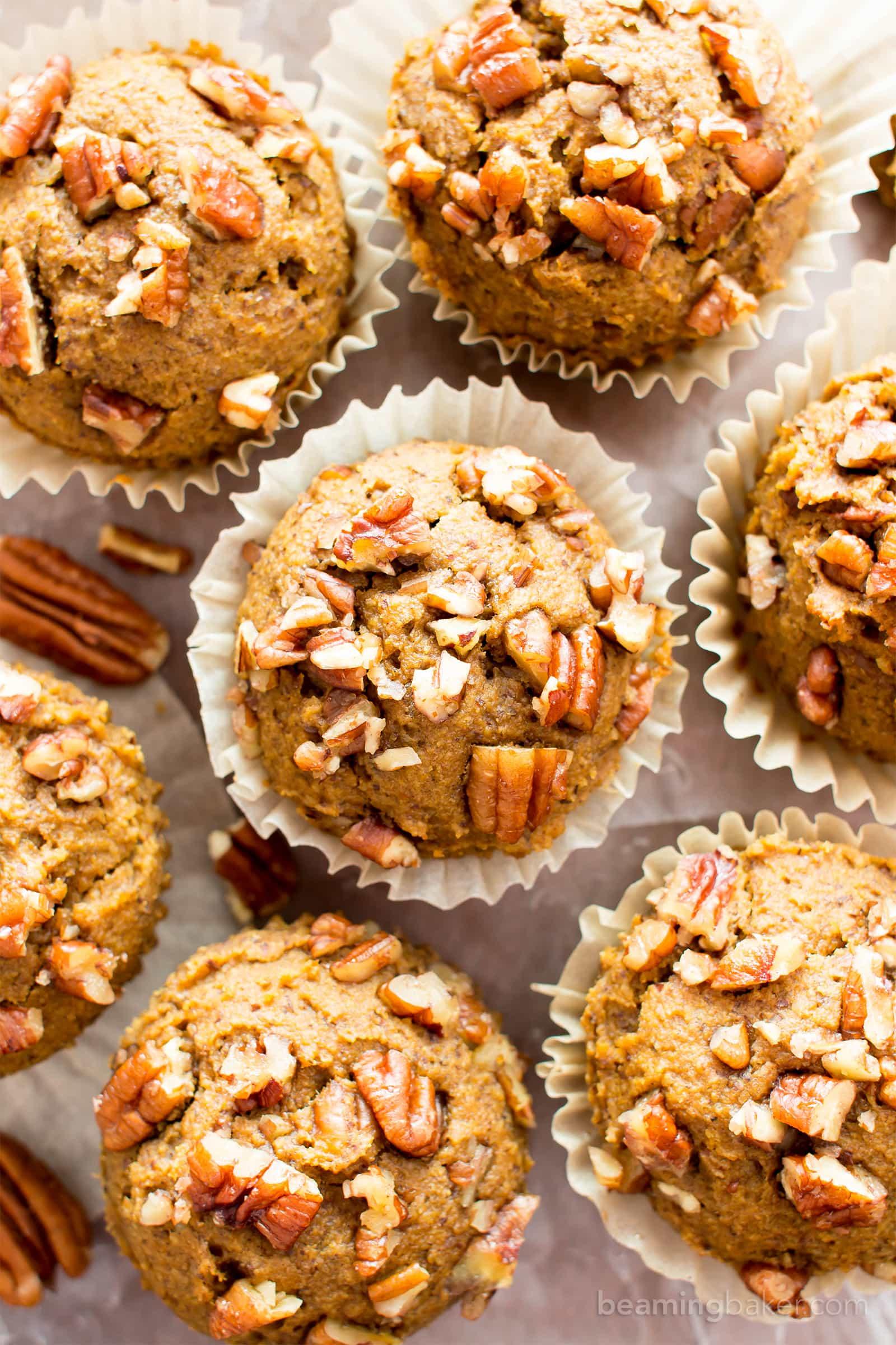 pumpkin applesauce muffins gluten free