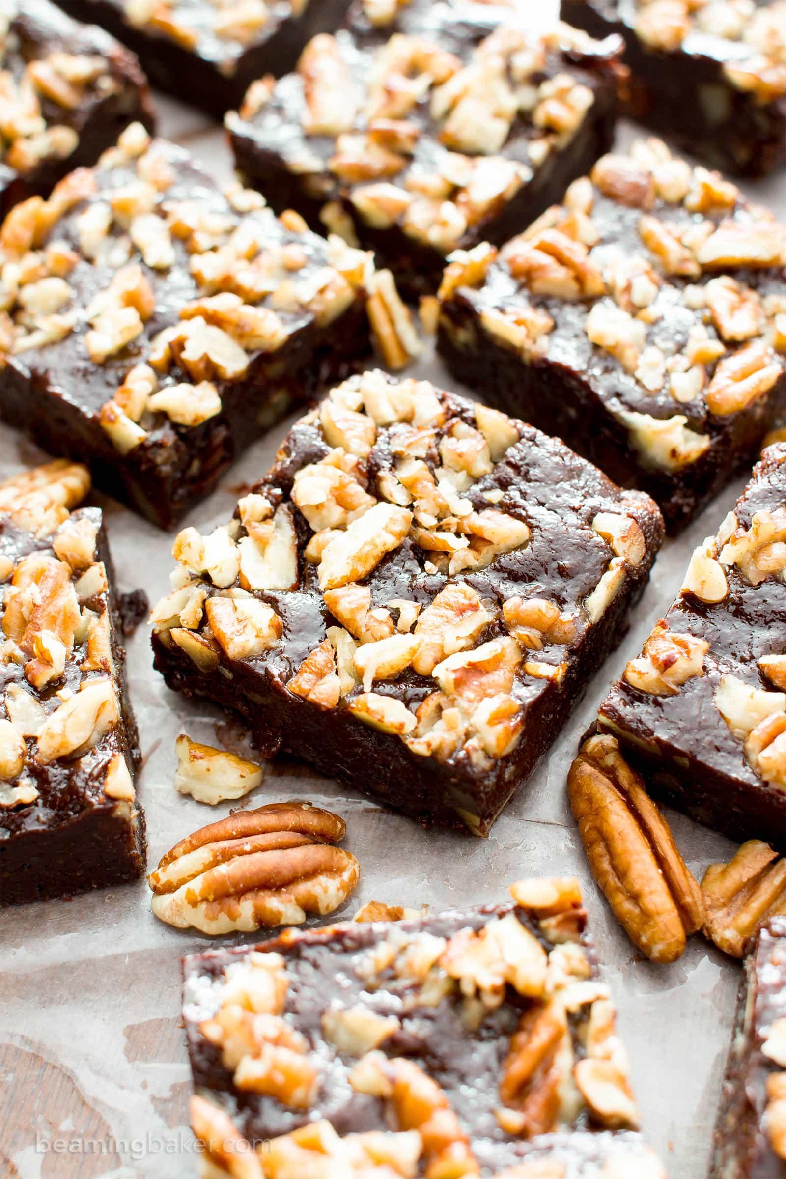 Super Fudgy Paleo Maple Pecan Brownies (Vegan, Gluten Free ...