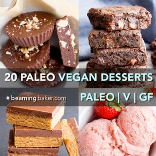 SQ Top 20 PALEO Vegan Desserts of 2017