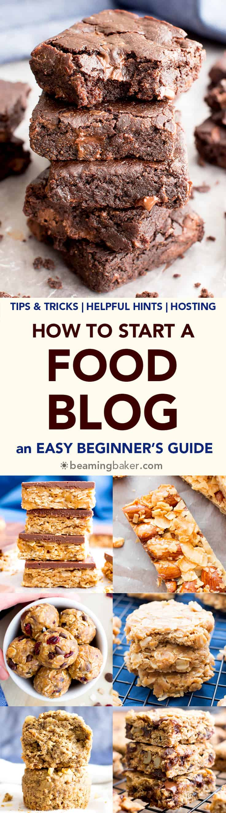 How to start a food blog an easy beginners guide beaming baker how to start a food blog an easy beginners guide a step by forumfinder
