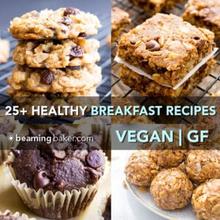 25+ Healthy Gluten Free Breakfast Recipes (Vegan, GF, Dairy-Free)