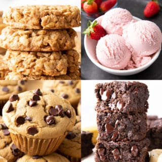 50 + Gluten Free Dairy Free Desserts (GF): the ultimate collection of delicious & easy gluten free dairy free desserts recipes for sweets lovers everywhere! My favorite gluten and dairy free desserts, all in one place. #GlutenFree #DairyFree #Desserts #GlutenFreeDairyFree | Recipes at BeamingBaker.com