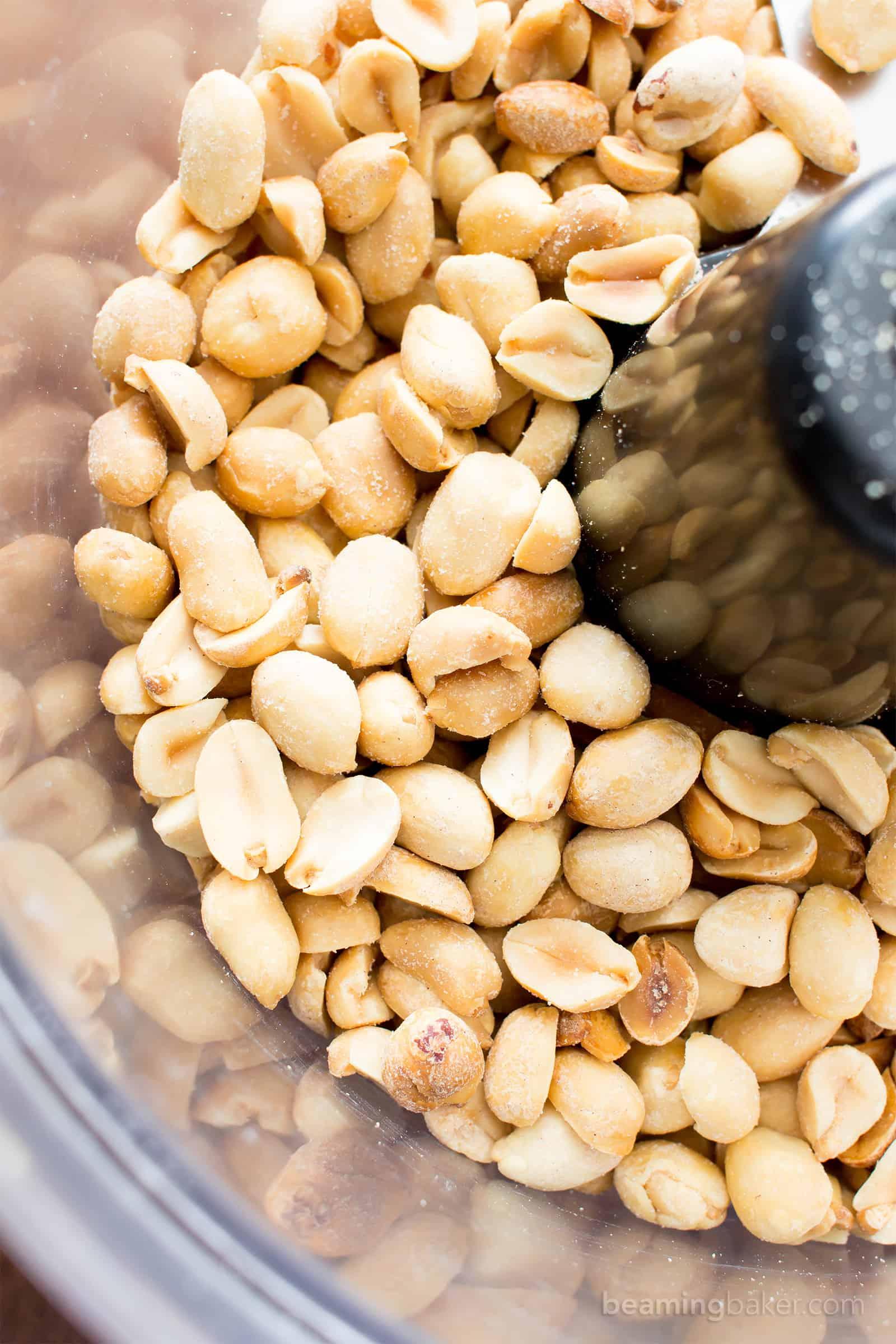 Peanut Butter Food Processor No Oil