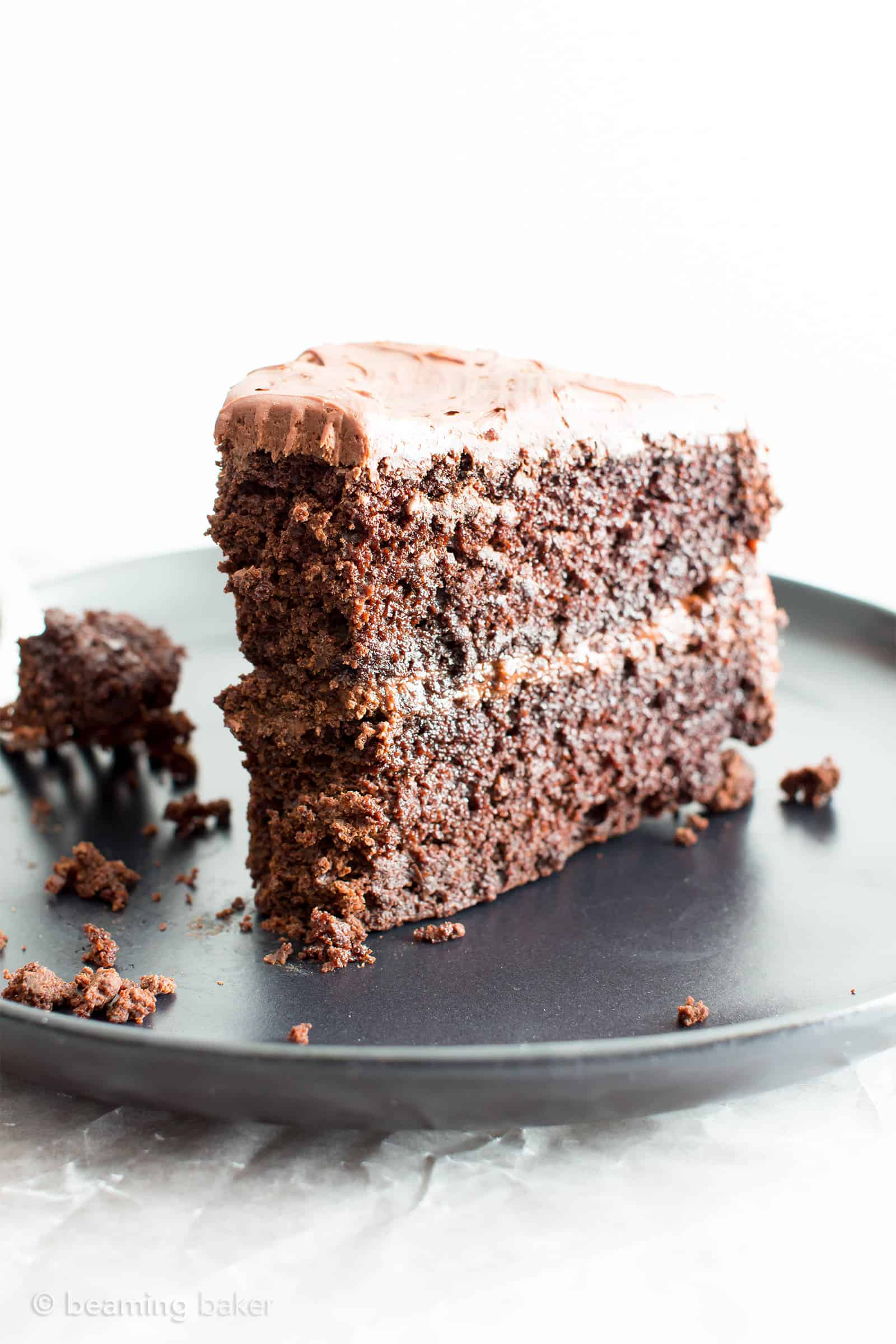 Vegan Chocolate Cake Recipe (Gluten Free, Dairy,Free, V, Refined Sugar,Free)