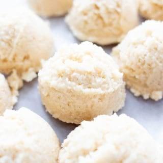 4 Ingredient No Bake Coconut Macaroons (Gluten Free, Vegan, Paleo, Dairy-Free)