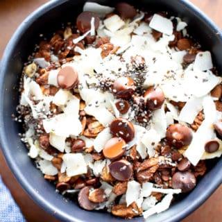 Midnight Mocha Oatmeal Bowls (Vegan, Gluten Free, Dairy-Free)