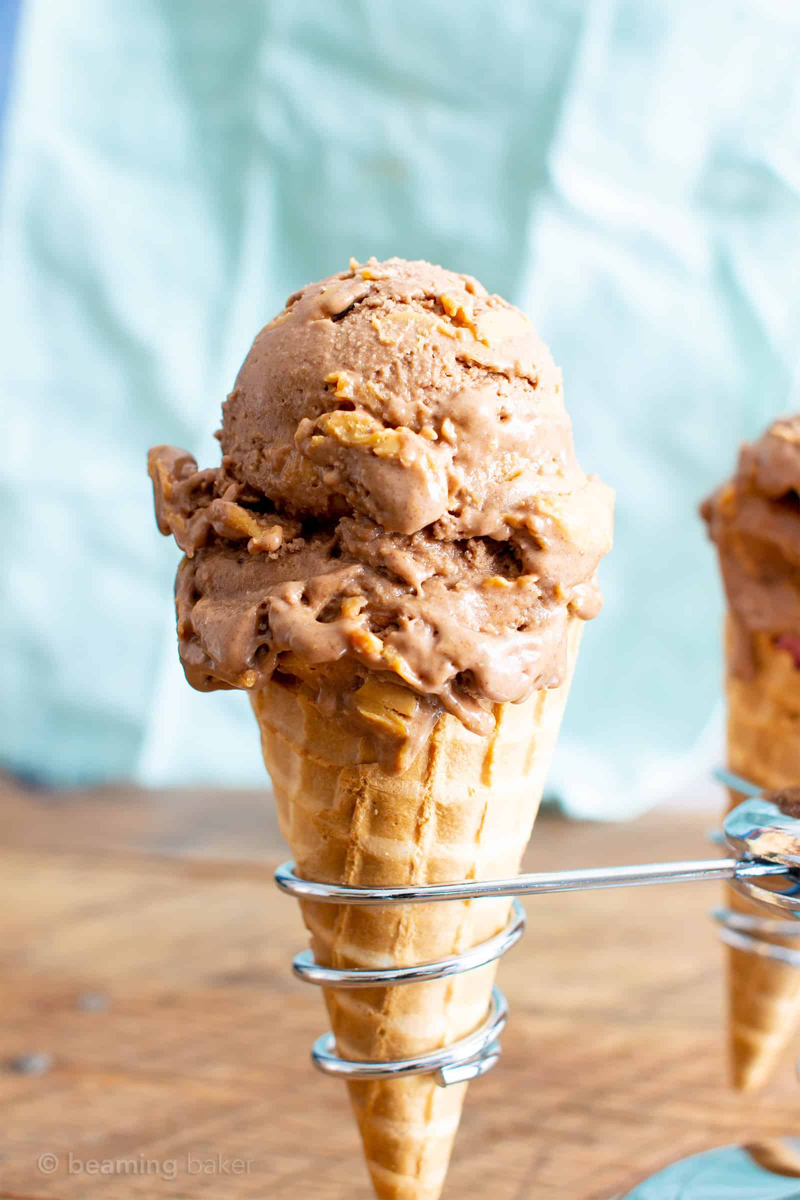 Healthy No Sugar Added Chocolate Peanut Butter Ice Cream ...