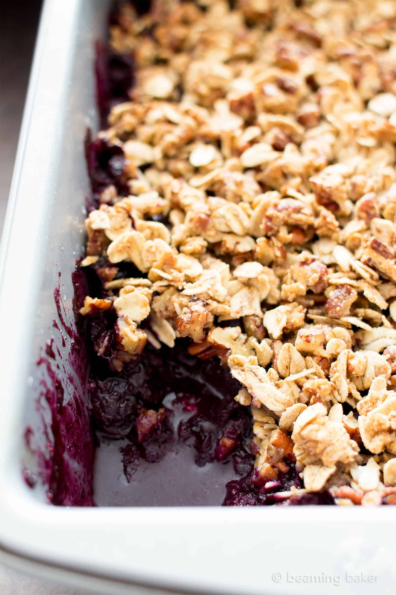20 Mind-Blowing Vegan Blueberry Desserts to Bake