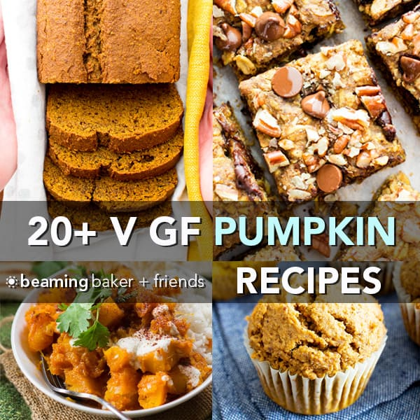 20 Healthy Gluten Free Vegan Pumpkin Recipes Dairy Free V