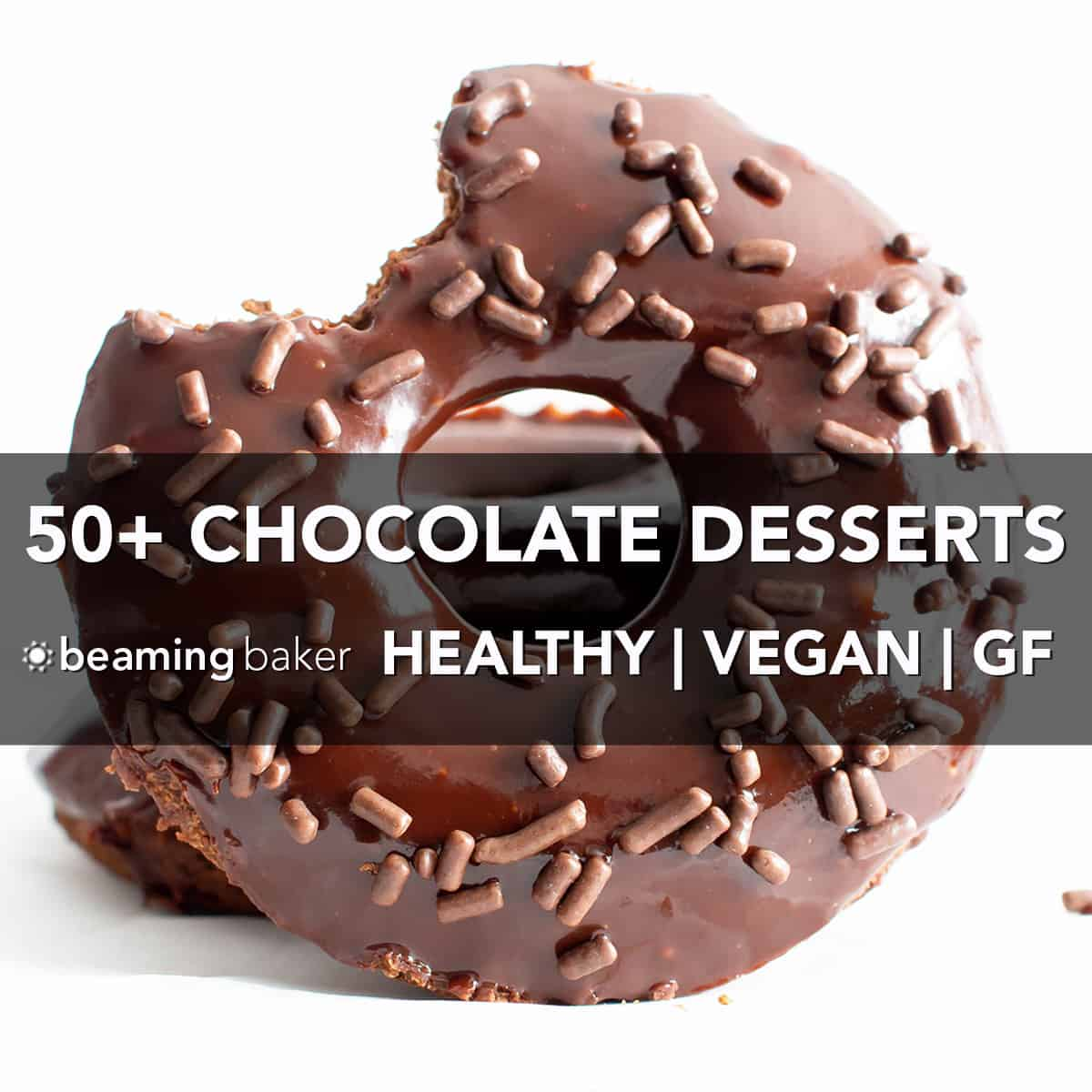 50+ Easy Healthy Chocolate Desserts