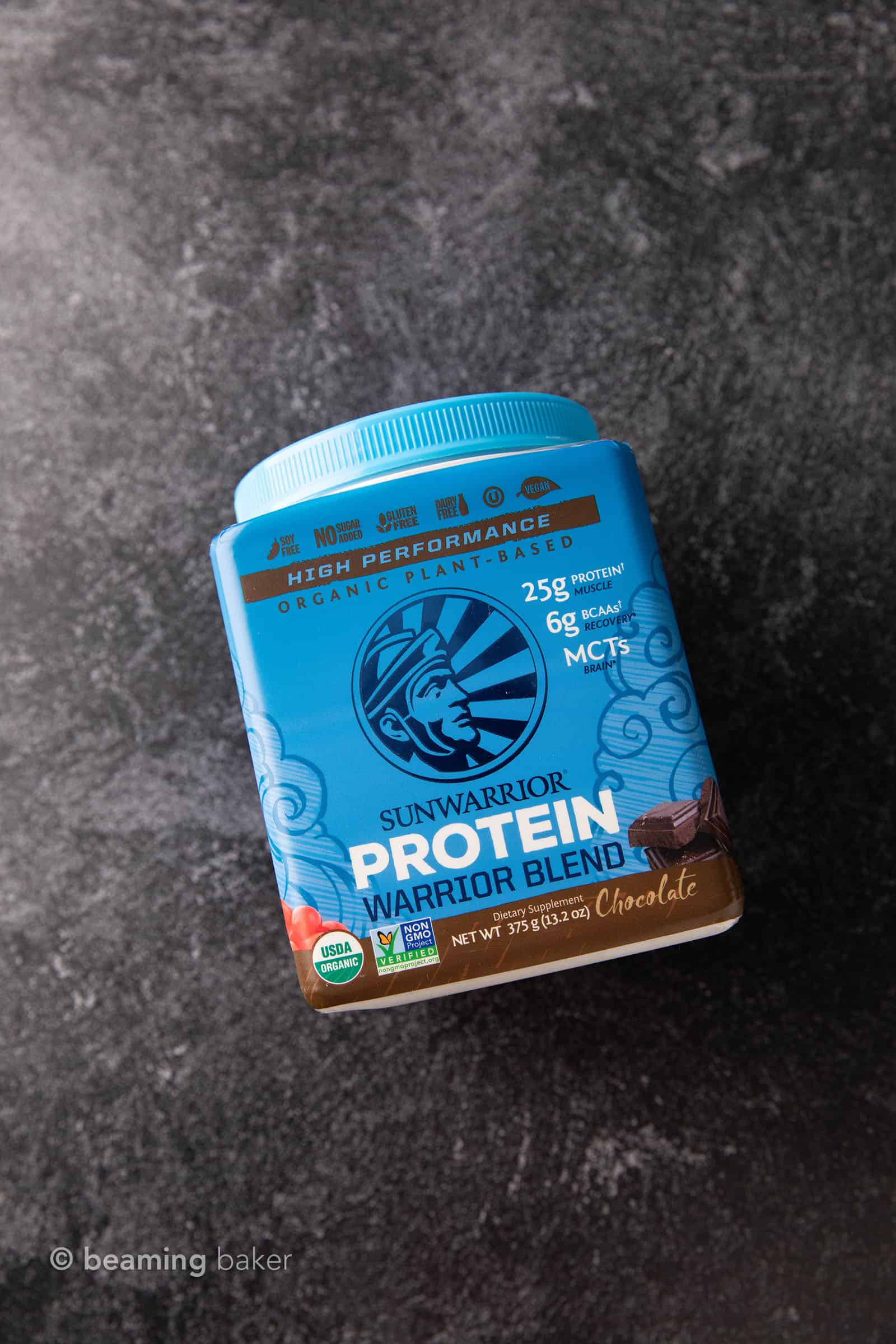 Best Vegan Protein Powder: Ranked. My review of the BEST tasting, healthiest Vegan protein powders to the WORST—Chocolate edition! Bonus: an EASY recipe for the best Plant Based Vegan Protein Powder Shake! #PlantBased #Vegan #Protein #Shakes #Healthy | Recipe at BeamingBaker.com