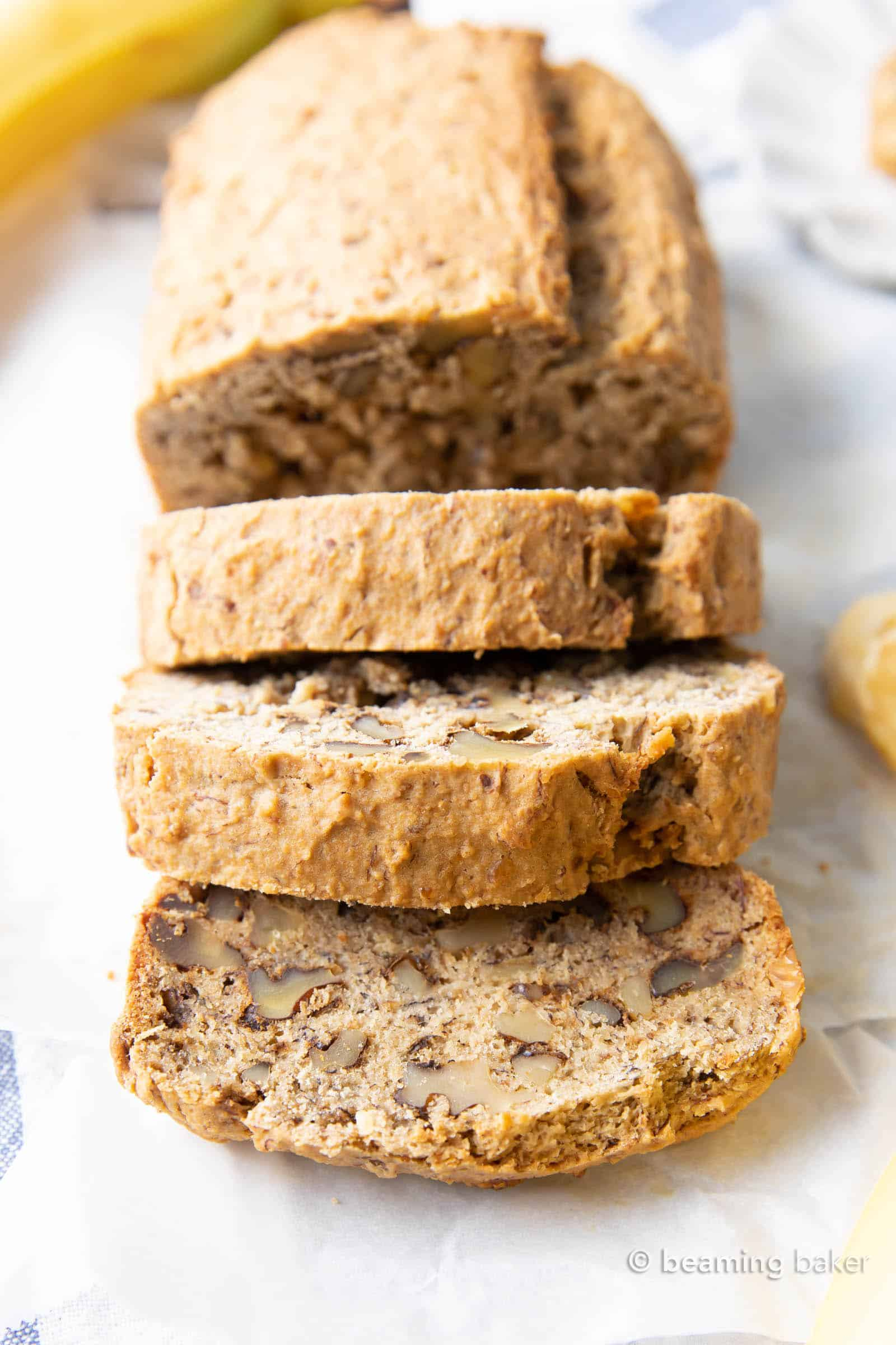 Easy Gluten Free Banana Bread Recipe (Vegan, Dairy-Free ...