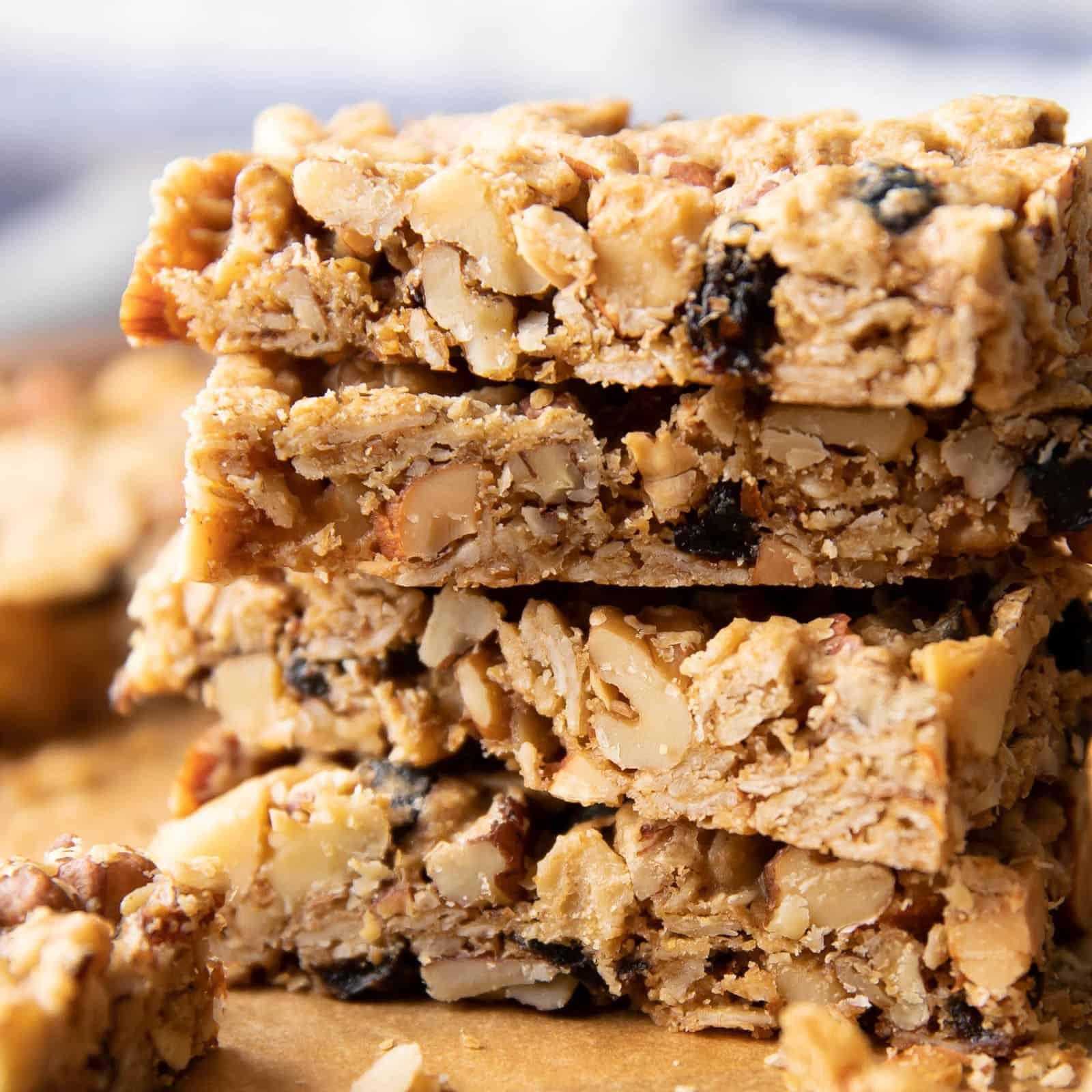 Healthy Granola Bars Recipe Homemade V Gf Beaming Baker