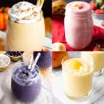 Good 'n Healthy Smoothie Recipes!: we've gathered all of our favorite healthy smoothie recipes all in one place: from banana smoothies to strawberry smoothies 'n more. Check out deliciously good smoothie recipes! #Smoothie #Smoothies #Recipe #Healthy | Recipes at BeamingBaker.com
