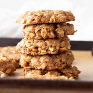 cinnamon oatmeal cookies featured image